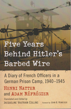 Five Years Behind Hitler's Barbed Wire cover